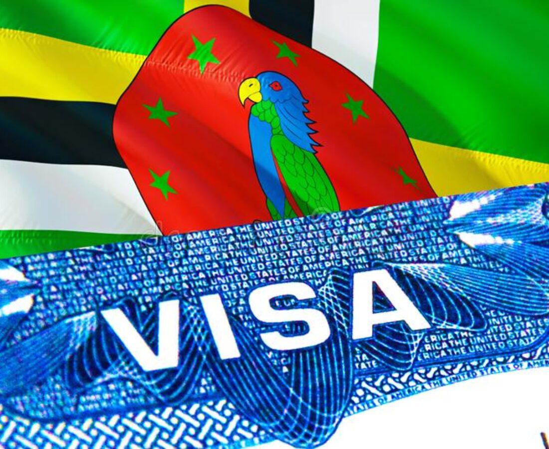 ویزای آمریکا با پاسپورت دومینیکا