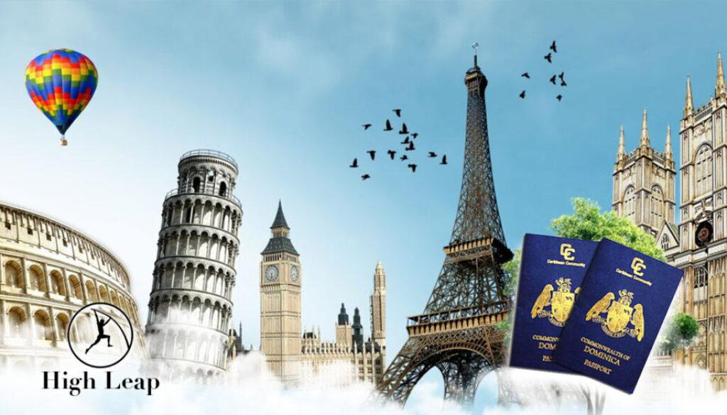 پاسپورت دومینیکا ویزای شنگن