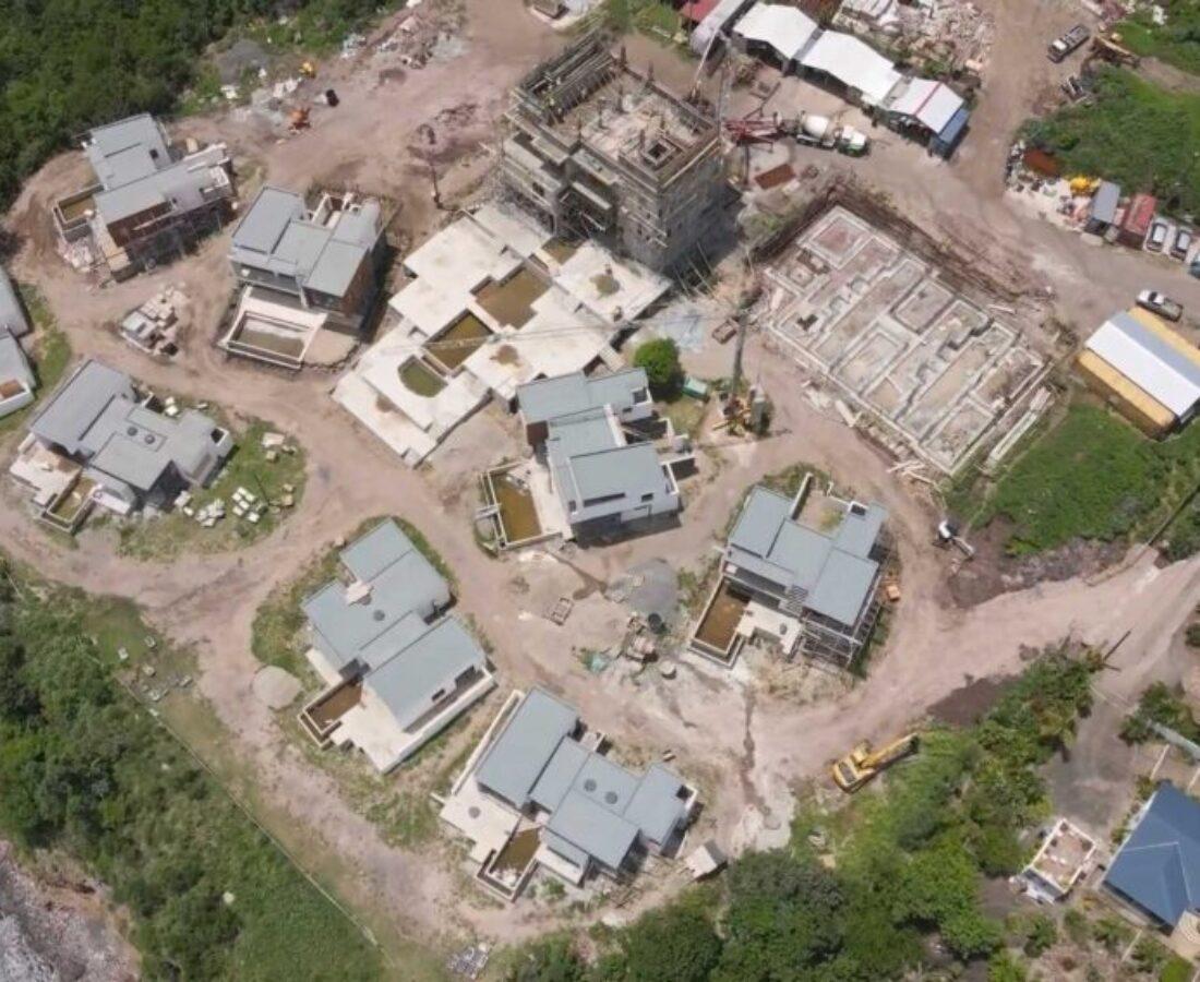 آخرین ویدیو منتشر شده از پیشرفت پروژه هیلتون دومینیکا در جولای ۲۰۲۱