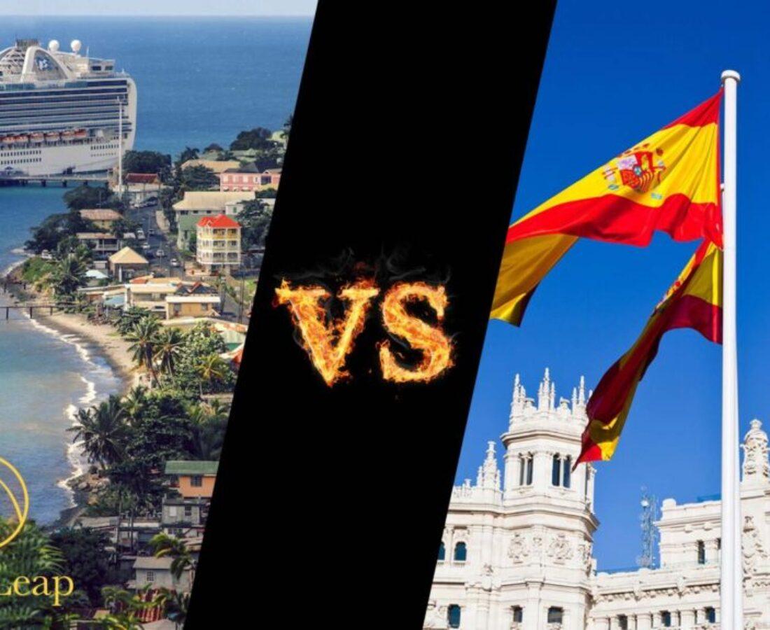پاسپورت دومینیکا یا خرید ملک در اسپانیا